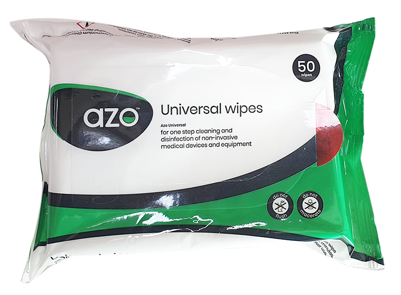 AZO universal wipes - pack of 50